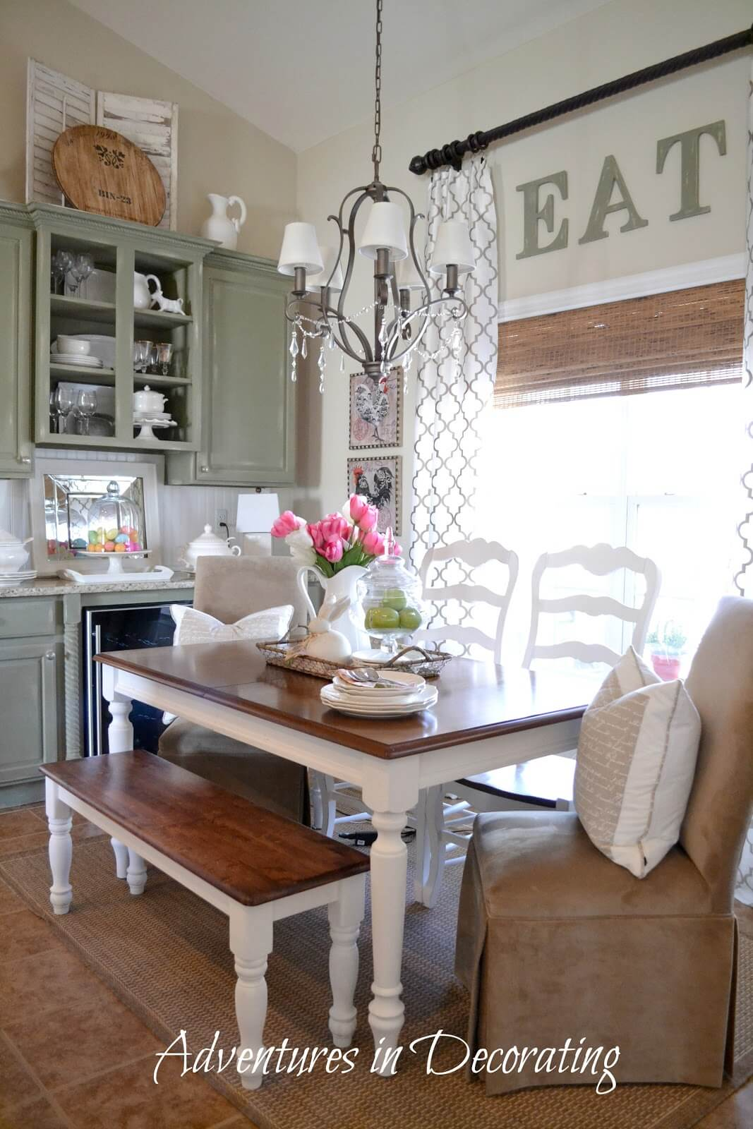Small Eat In Kitchen Table Ideas 37 Best Farmhouse Dining Room Design And Decor Ideas For 2017
