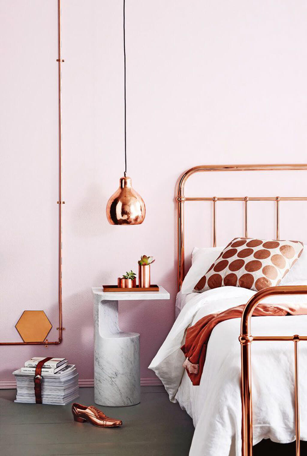 Rose Gold Decor 16 Rose Gold And Copper Details For Stylish Interior Decor