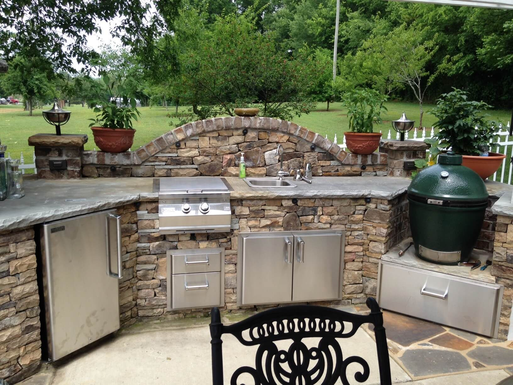 Outdoor Kitchen Cabinet Ideas 17 Functional And Practical Outdoor Kitchen Design Ideas