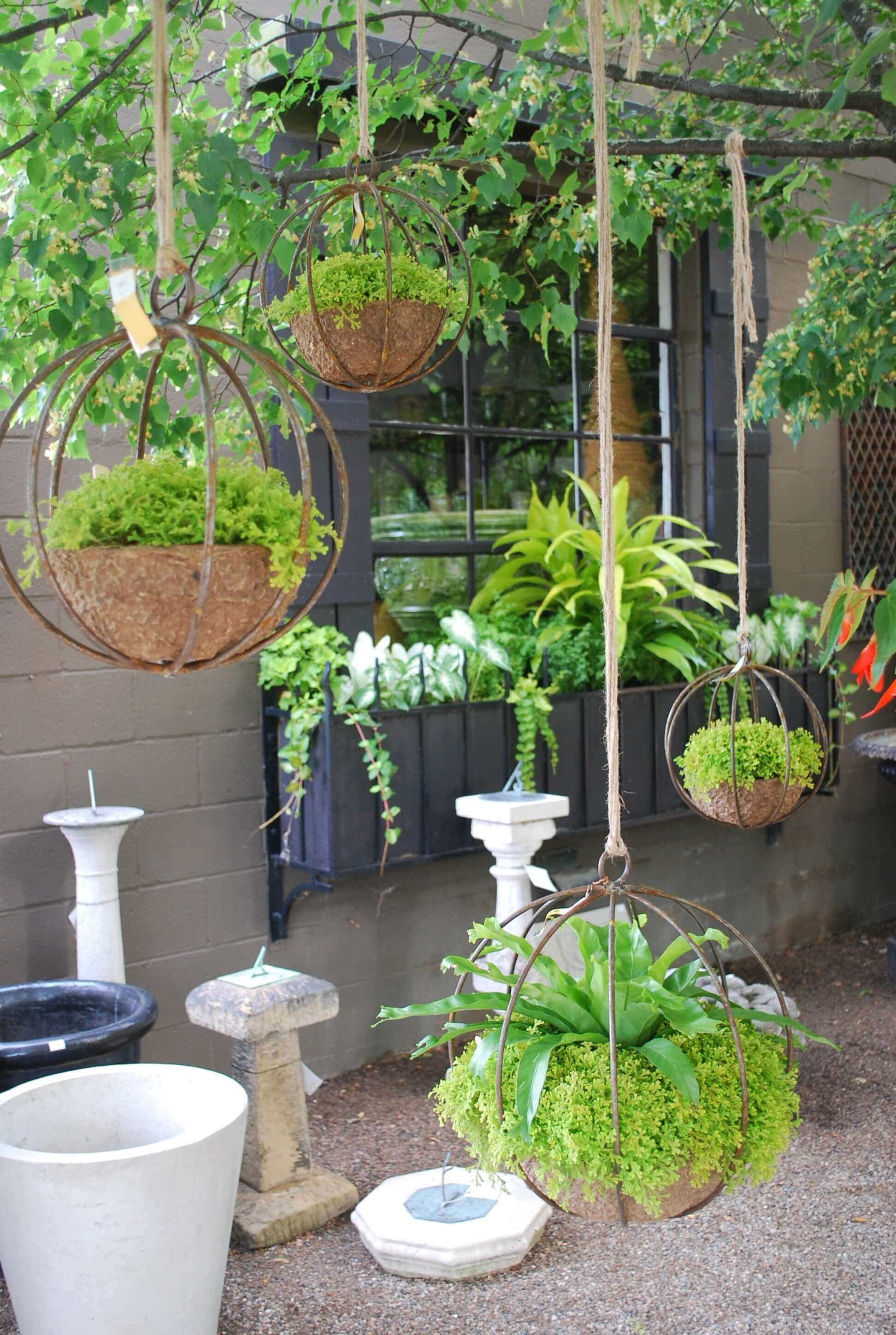 Outdoor Wall Hanging Planters 45 Best Outdoor Hanging Planter Ideas And Designs For 2017