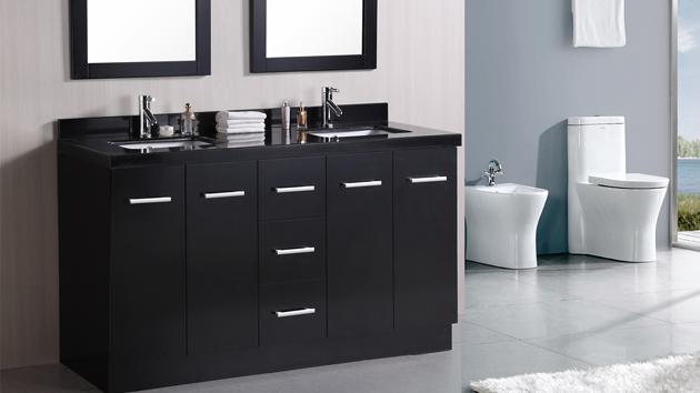 15 black bathroom vanity sets home design lover inside