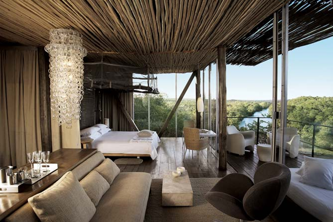 Luxury African Game Reserve Welcomes Guests In The Heart
