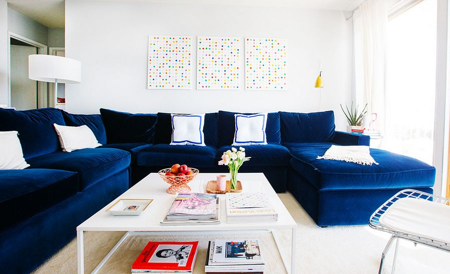 How To Decorate With Oversized Sofas - oversized living room sets