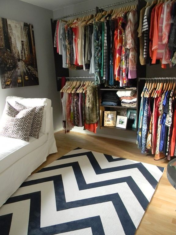 Algot How To Turn A Small Bedroom Into A Dressing Room