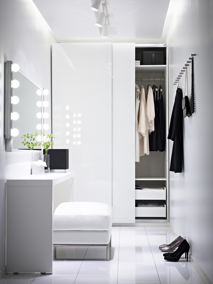 Pax Kleiderschrank Beispiele How To Turn A Small Bedroom Into A Dressing Room