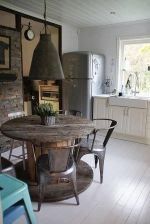 Spool Kitchen Table