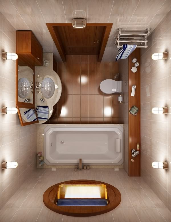 17 Small Bathroom Ideas Pictures - decorating ideas for small bathrooms
