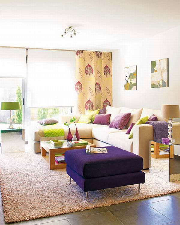 Colorful Living Room Interior Design Ideas - decorating tips for living room