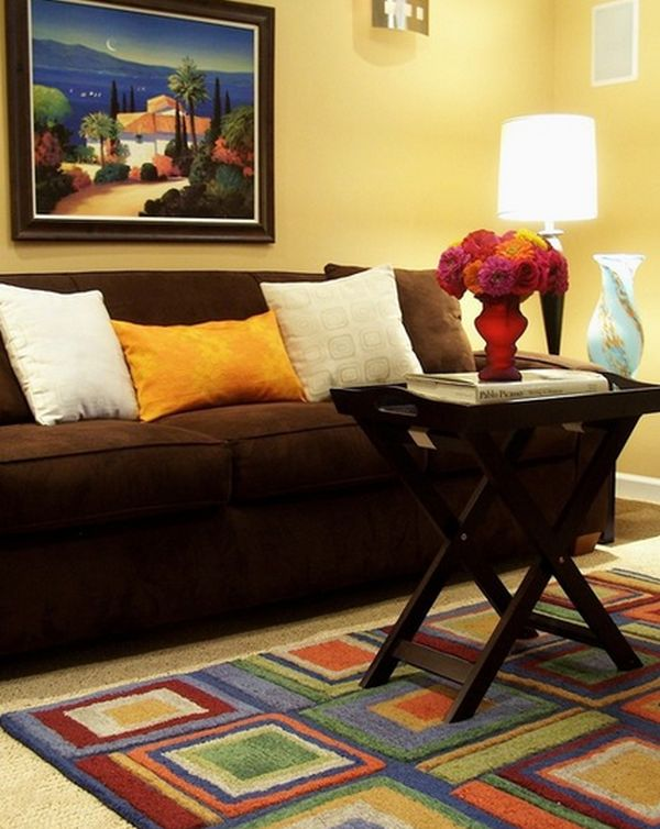 What Color Should I Paint My Living Room? - paint colors for living room walls with dark furniture