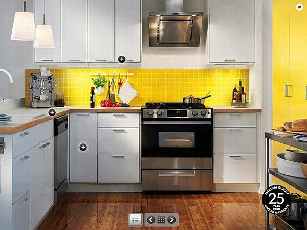 Design Kitchen Set Minimalis Modern How To Decorate The Kitchen Using Yellow Accents