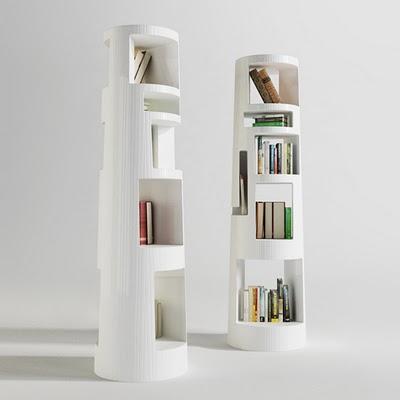 5 Interesting Bookshelves