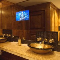 Bathroom Mirrors with Built-In TVs