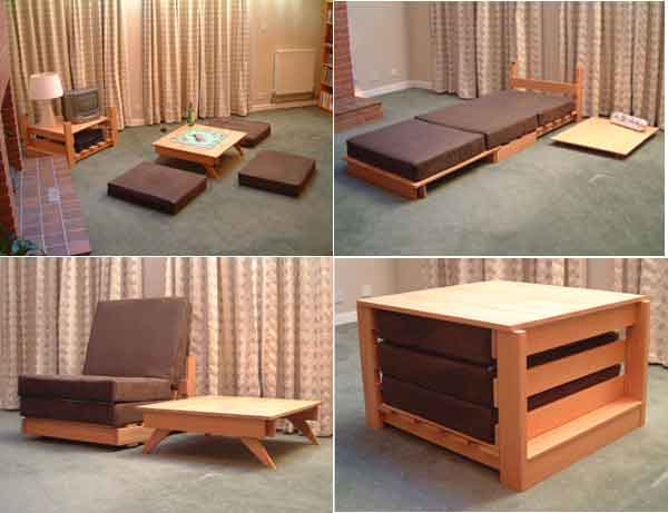 choose furniture small space