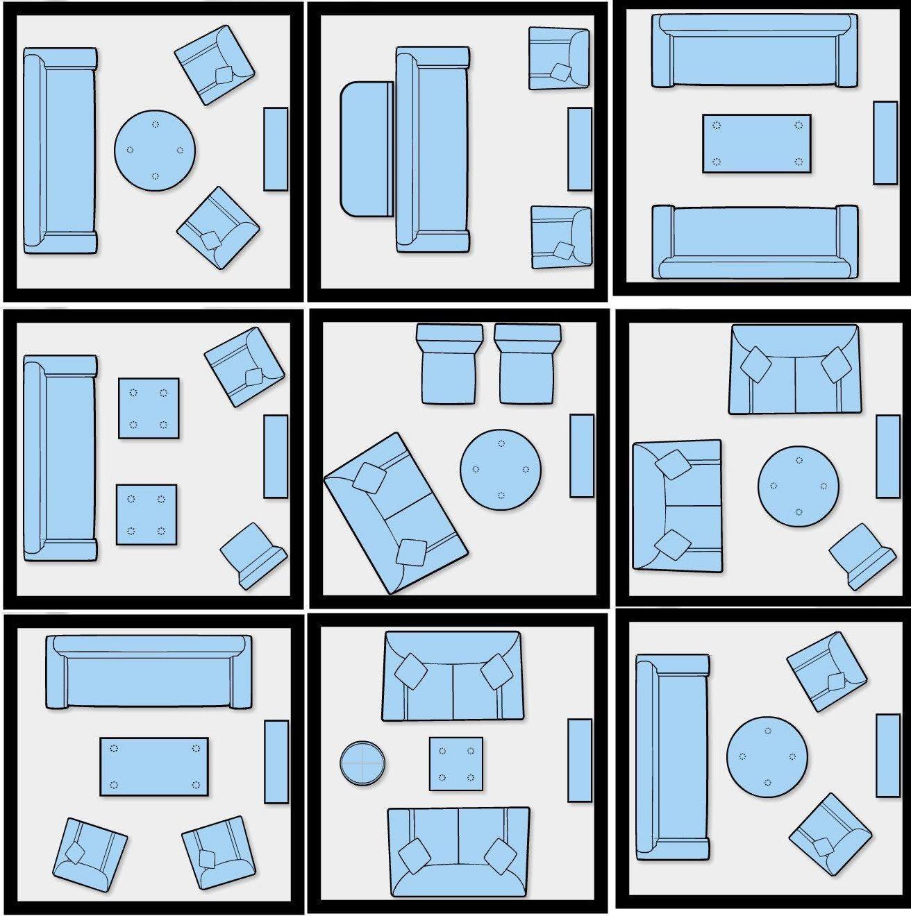Studio Apartment Furniture Layout How To Efficiently Arrange The Furniture In A Small Living