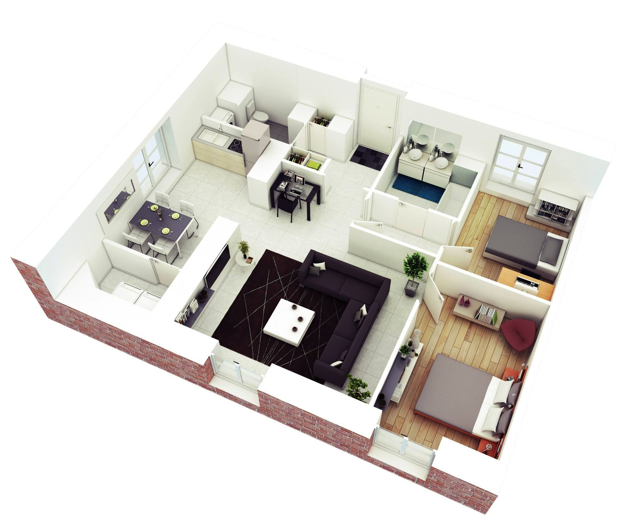 3d Open Understanding 3d Floor Plans And Finding The Right Layout For You