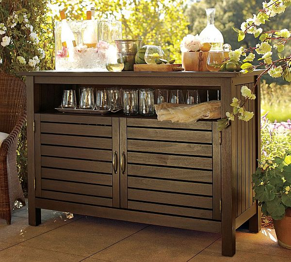 Deep Kitchen Cabinet Storage Ideas Eucalyptus Buffet For Relaxing Outdoors