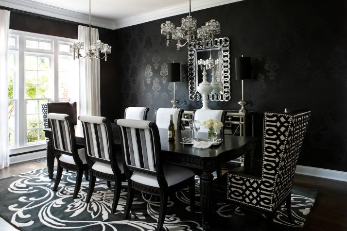 Rug Under Kitchen Table 13 Reasons Why Black Dining Tables Work In Any Interior