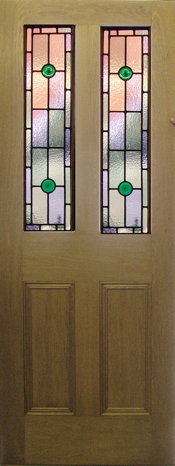 Stained Glass Front Doors
