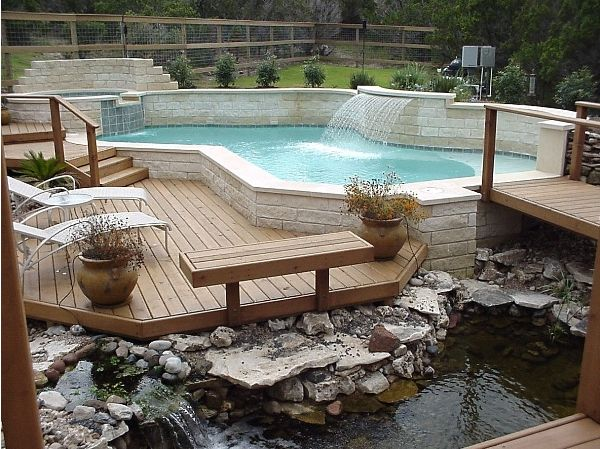 A Look Over The Deck Design Ideas