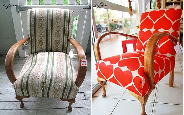 28 Before-After Reupholstered Chairs