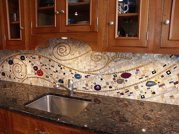 mosaic kitchen backsplashes wonderful mosaic kitchen backsplashes