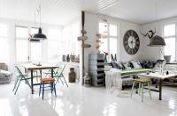 Industrial and yet vintage interior design