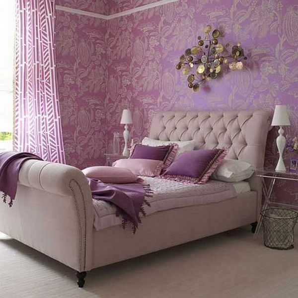 How To Decorate A Bedroom With Purple Walls - female bedroom ideas