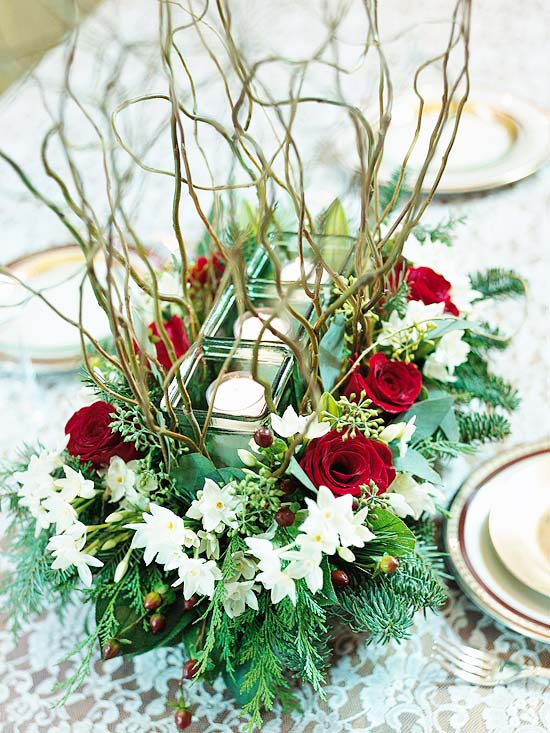44 Flower Arrangements for Christmas - christmas floral decorationswhere to buy christmas decorations