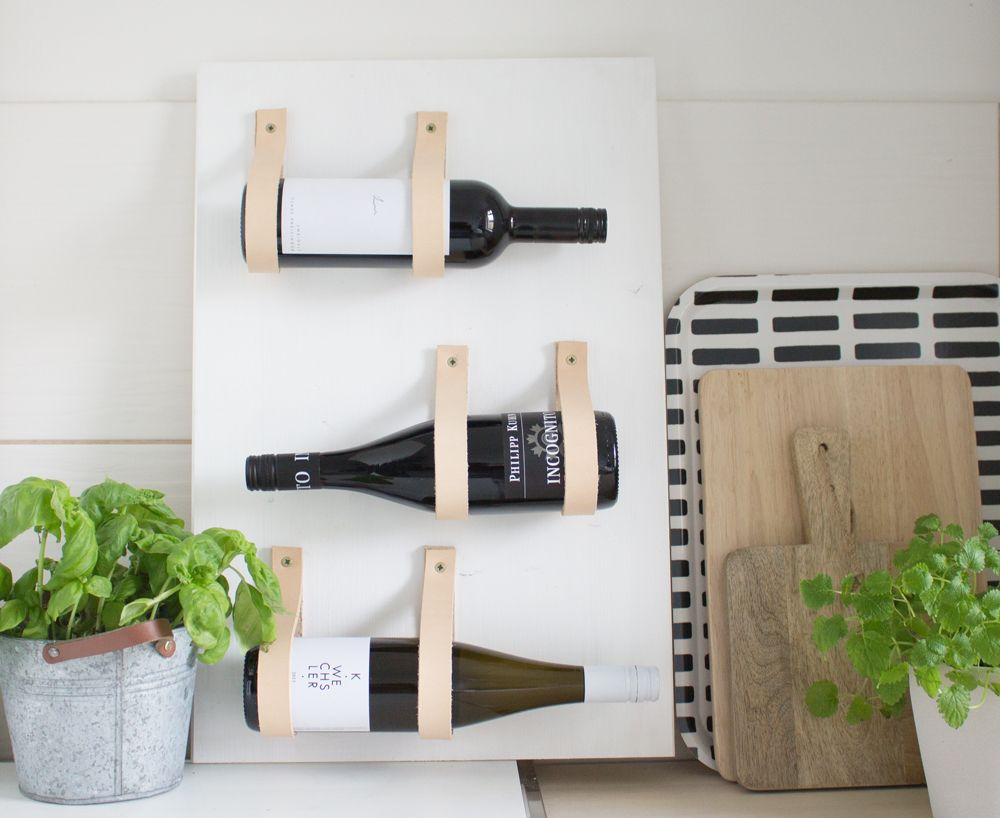 Window Color Küche 6 Versatile Wall-mounted Wine Rack Designs You Can Craft