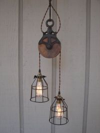 8 Original Industrial Pendant Lights You Can Craft Yourself