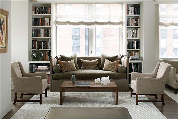 21 Gray living room design ideas - gray and beige living room