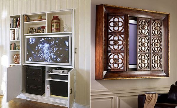 Fernseher Verstecken Ingenious Ideas How To Fit Tv Into Any Interior