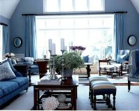 20 Blue living room design ideas
