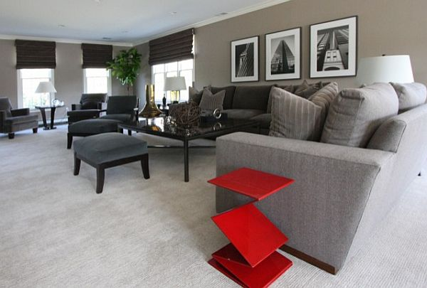 Solutions for giving your living room personality - gray and beige living room