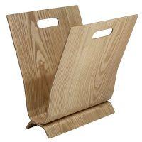 wooden magazine holder  Roselawnlutheran