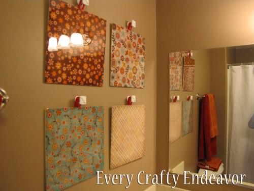 Medium Of Diy Easy Wall Decor