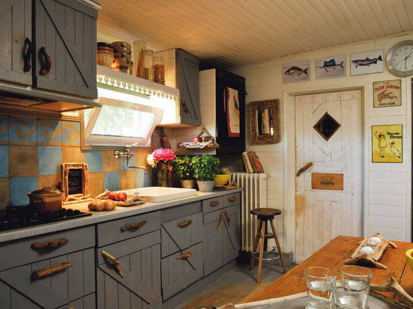 30 French Country Design Inspiration for Your Kitchen - french kitchen design