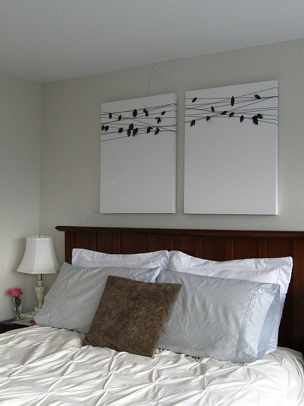 15 Easy DIY Wall Art Ideas You\u0027ll Fall In Love With
