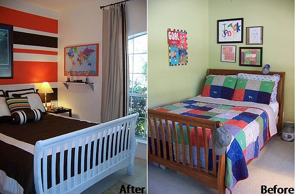 Before And After Boys Room Transformation