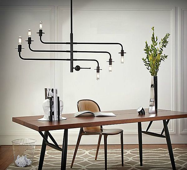Stuck Lampe Atelier Chandelier By Sonneman