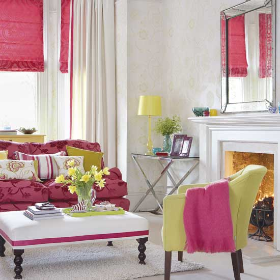 Trendy Color Combo Hot Pink  Lime Green