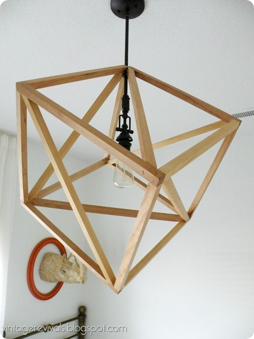 Deckenlampe Industrial How To Build A Cube Pendant Light