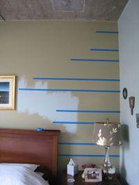 Lines Paint Wall Home Designs - Modern home design ideas