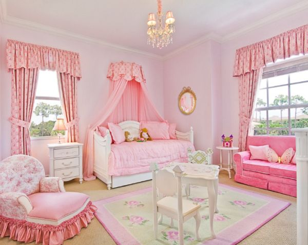 Pretty in Pink: Designing a Little Girls Room