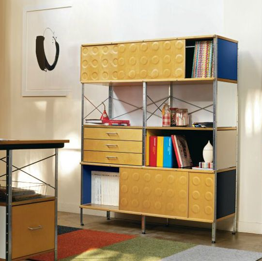 Charles Eames Herman Miller Chair Modular Eames Storage Unit