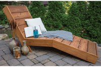 How To Build A Comfortable Chaise Lounge For Outdoor Use