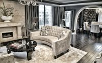 Interior Design Ideas For A Glamorous Living Room