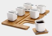 Espresso Set with Beautiful Square Cups