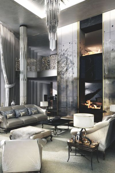 Interior Design Ideas For A Glamorous Living Room