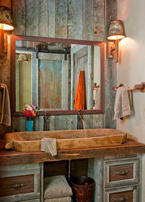 Badezimmer rustikal und trotzdem cool  badezimmer rustikal und trotzdem cool | home interior Außen